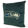 "Seattle Seahawks NFL 16"" Embroidered Plush Pillow with Applique"