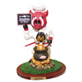 Arkansas Razorbacks NCAA College Soup of the Day Mascot Figurine