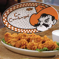 "Oklahoma State Cowboys NCAA College 12"" Gameday Ceramic Oval Platter"