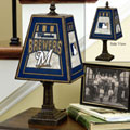 Milwaukee Brewers MLB Art Glass Table Lamp