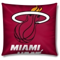 "Miami Heat NBA 16"" Embroidered Plush Pillow with Applique"
