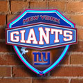 New York Giants NFL Neon Shield Wall Lamp