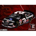 "Dale Earnhardt Sr. #3 NASCAR ""Flash"" 48"" x 60"" Metallic Tapestry Throw"
