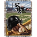 "Chicago White Sox MLB ""Home Field Advantage"" 48"" x 60"" Tapestry Throw"