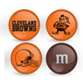 Cleveland Browns Custom Printed NFL M&M's With Team Logo