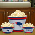New England Patriots NFL Melamine 3 Bowl Serving Set