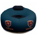 Chicago Bears NFL Vinyl Inflatable Chair w/ faux suede cushions