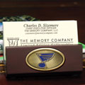 St. Louis Blues NHL Business Card Holder