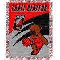 "Portland Trail Blazers NBA Baby 36"" x 46"" Triple Woven Jacquard Throw"