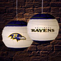 "Baltimore Ravens NFL 18"" Rice Paper Lamp"