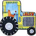 "Tractor Rug (31"" x 31"")"