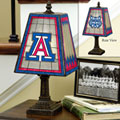 Arizona Wildcats NCAA College Art Glass Table Lamp