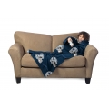 Dallas Cowboys NFL Juvenile Fleece Comfy Throw