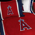 Los Angeles Angels of Anaheim MLB Microsuede Comforter / Sheet Set
