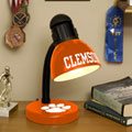 Clemson Tigers NCAA College Desk Lamp