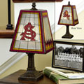Arizona State Sun Devils NCAA College Art Glass Table Lamp