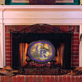 Colorado Rockies MLB Stained Glass Fireplace Screen