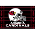 "Arizona Cardinals NFL 39"" x 59"" Tufted Rug"