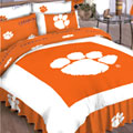 Clemson Tigers Queen Comforter Set