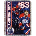 "Ales Hemsky NHL 48"" x 60"" Tapestry Throw"