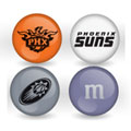 Phoenix Suns Custom Printed NBA M&M's With Team Logo