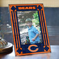 "Chicago Bears NFL 9"" x 6.5"" Vertical Art-Glass Frame"