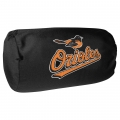 "Baltimore Orioles MLB 14"" x 8"" Beaded Spandex Bolster Pillow"
