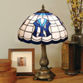 New York Yankees MLB Stained Glass Tiffany Table Lamp
