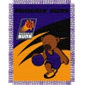 "Phoenix Suns NBA Baby 36"" x 46"" Triple Woven Jacquard Throw"