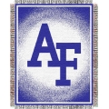 "Air Force NCAA College ""Focus"" 48"" x 60"" Triple Woven Jacquard Throw"