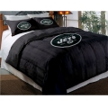 "New York Jets NFL Twin Chenille Embroidered Comforter Set with 2 Shams 64"" x 86"""