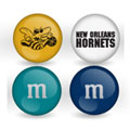 New Orleans Hornets Custom Printed NBA M&M's With Team Logo