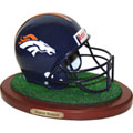 Denver Broncos NFL Football Helmet Figurine