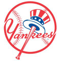 New York Yankees Resized Logo Fathead MLB Wall Graphic