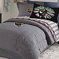 Jacksonville Jaguars NFL Team Denim Twin Comforter / Sheet Set
