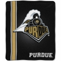 "Purdue Boilermakers College ""Jersey"" 50"" x 60"" Raschel Throw"