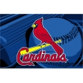 "St. Louis Cardinals MLB 39"" x 59"" Acrylic Tufted Rug"