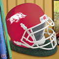 Arkansas Razorbacks NCAA College Helmet Bank