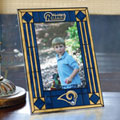 "St. Louis Rams NFL 9"" x 6.5"" Vertical Art-Glass Frame"