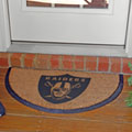 Oakland Raiders NFL Half Moon Outdoor Door Mat