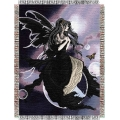 "Nene Thomas Gathering 48"" x 60"" Metallic Tapestry Throw"