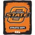 "Oklahoma State Cowboys College ""Property of"" 50"" x 60"" Micro Raschel Throw"
