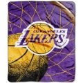 "Los Angeles Lakers NBA ""Reflect"" 50"" x 60"" Super Plush Throw"