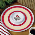 "Arizona Diamondbacks MLB 14"" Round Melamine Chip and Dip Bowl"