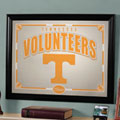 Tennessee Vols NCAA College Framed Glass Mirror