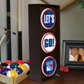New York Rangers NHL Stop Light Table Lamp