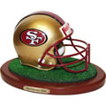 San Francisco 49ers NFL Football Helmet Figurine