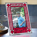 "Arkansas Razorbacks NCAA College 9"" x 6.5"" Vertical Art-Glass Frame"