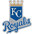 Kansas City Royals Logo Fathead MLB Wall Graphic
