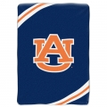 "Auburn Tigers College ""Force"" 60"" x 80"" Super Plush Throw"